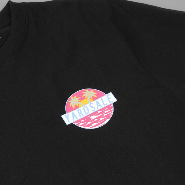 YARDSALE ORIGINAL LOGO T-SHIRT BLACK