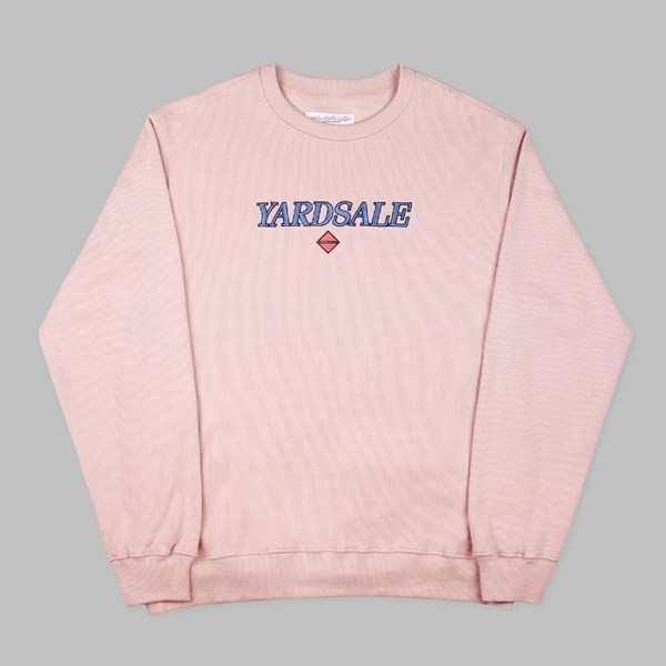 YARDSALE PINK HOLME LACEY RIBBED SWEAT PINK