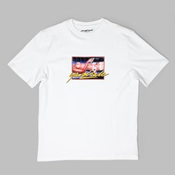 YARDSALE SOAP CLEAN SHAVE SS T-SHIRT WHITE