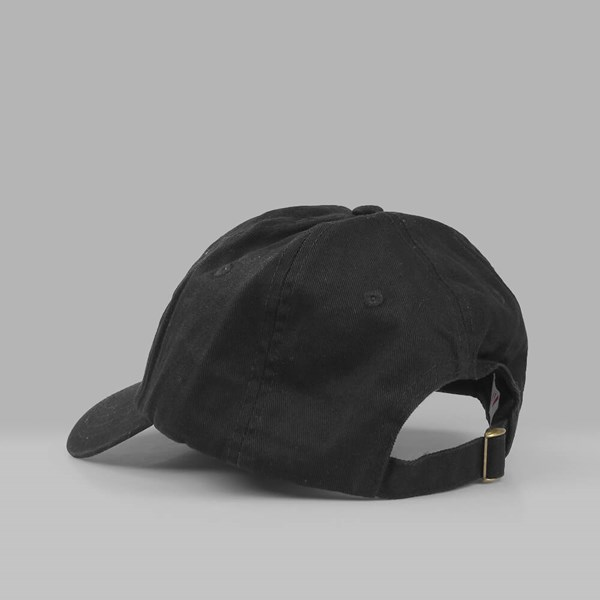 YARDSALE YS 6 PANEL DAD CAP BLACK