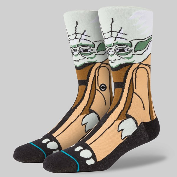 STANCE X STAR WARS YODA SOCKS GREEN