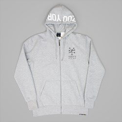 ZOO YORK BONEIN ZIP HOODY GREY