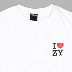ZOO YORK IZZY T SHIRT WHITE