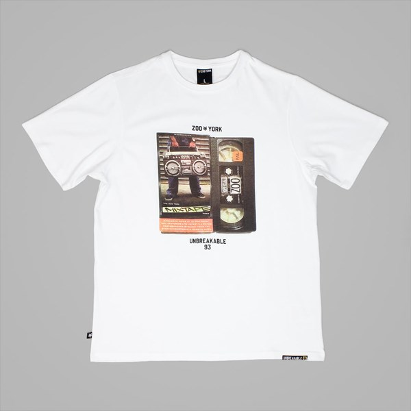 ZOO YORK LICENSE T SHIRT WHITE
