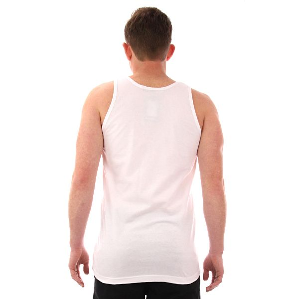 Actual Pain Acid Wolf Tank Top White