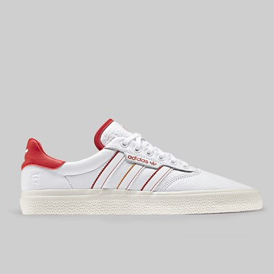 ADIDAS 3MC X EVISEN FOOTWEAR WHITE SCARLET GOLD