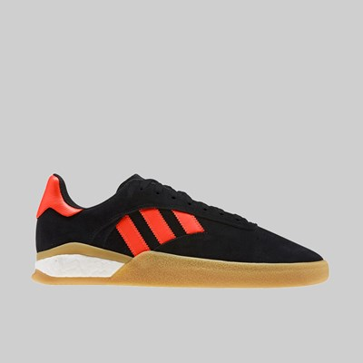 ADIDAS 3ST.004 CORE BLACK SOLAR RED WHITE GUM