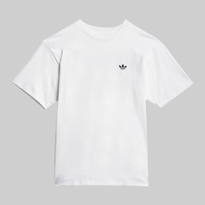 ADIDAS 4.0 LOGO SHORT SLEEVE T-SHIRT WHITE
