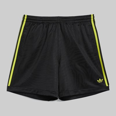 ADIDAS ATHLETIC SHORT BLACK ACTIVE YELLOW