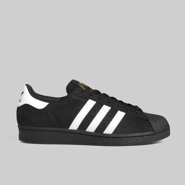 ADIDAS SUPERSTAR ADV CORE BLACK FOOTWEAR WHITE