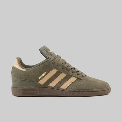 ADIDAS BUSENITZ RAW KHAKI GLOW ORANGE GUM