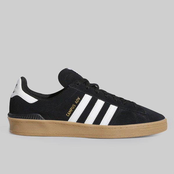 ADIDAS CAMPUS ADV CORE BLACK FOOTWEAR WHITE GUM