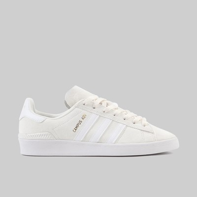 ADIDAS CAMPUS ADV SUPPLIER COLOUR WHITE GOLD