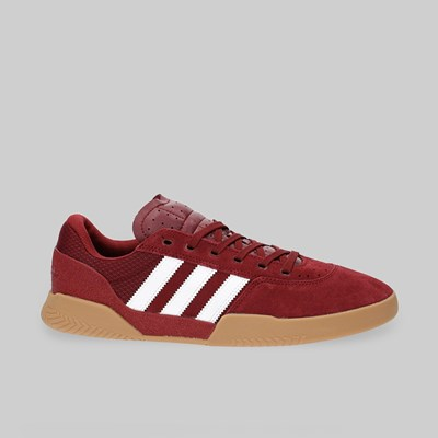 ADIDAS CITY CUP COLLEGIATE BURGUNDY WHITE GUM