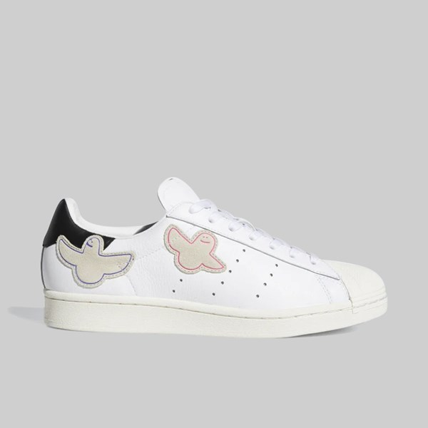 ADIDAS X MARK GONZALES SUPERSTAR CLOUD WHITE BLACK