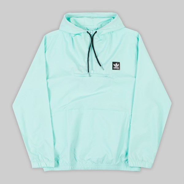 ADIDAS HIP JACKET CLEAR MINT BLACK