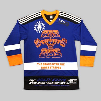 ADIDAS HOCKEY JERSEY COLLEGIATE ROYAL ORANGE