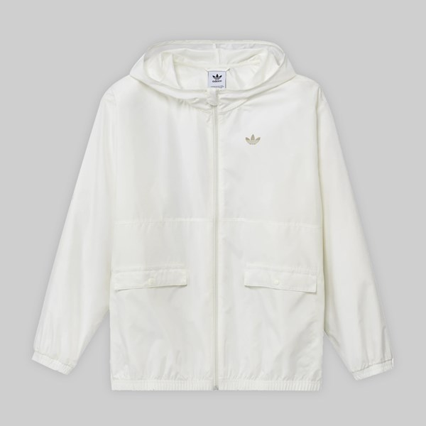 ADIDAS LIGHT WINDBREAKER JACKET OFF WHITE SAVANNAH
