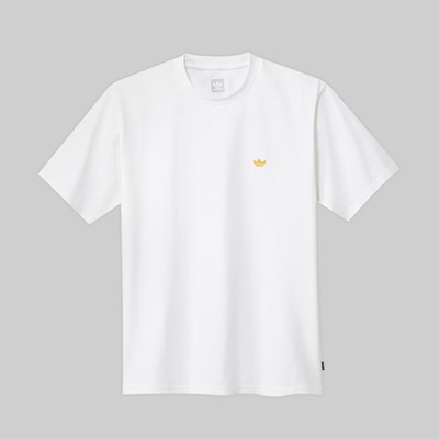 ADIDAS GONZ MINI SHMOO SS TEE WHITE ACTIVE GOLD