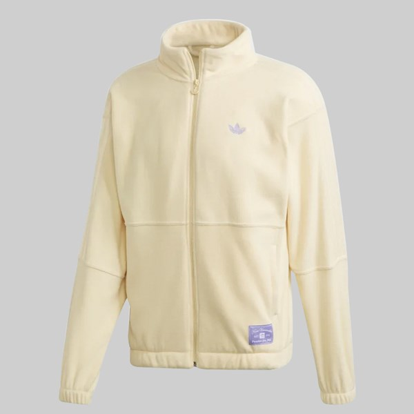 ADIDAS X NORA FLEECE JACKET MIST SUN