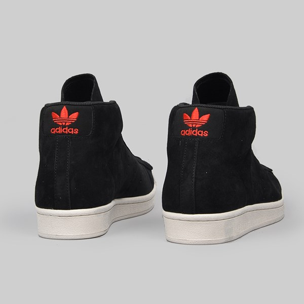 ADIDAS PRO MODEL CORE BLACK SCARLET WHITE