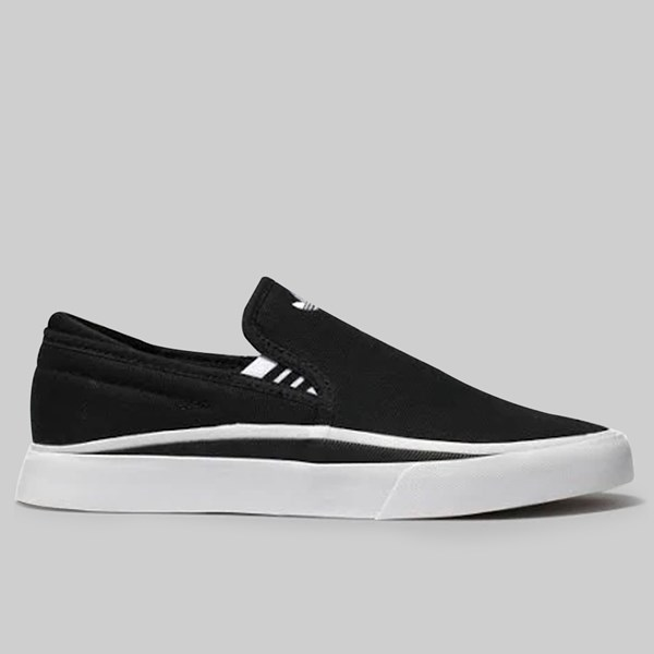 ADIDAS SABALO SLIP ON CORE BLACK FOOTWEAR WHITE
