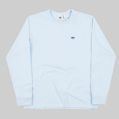 ADIDAS GONZ SHMOO LS T-SHIRT ICE BLUE ROYAL BLUE