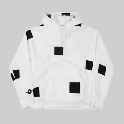 ADIDAS SHMOO BOX HOOD AOP WHITE BLACK