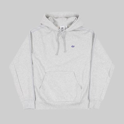 ADIDAS SHMOO HOODIE LIGHT GREY PURPLE TINT