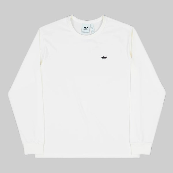 ADIDAS GONZ SHMOO LONG SLEEVE T-SHIRT WHITE