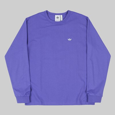 ADIDAS SHMOO LONG SLEEVE PURPLE SKY TINT