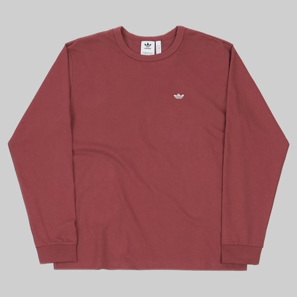 ADIDAS SHMOO LONG SLEEVE T-SHIRT RED ALUMINIUM