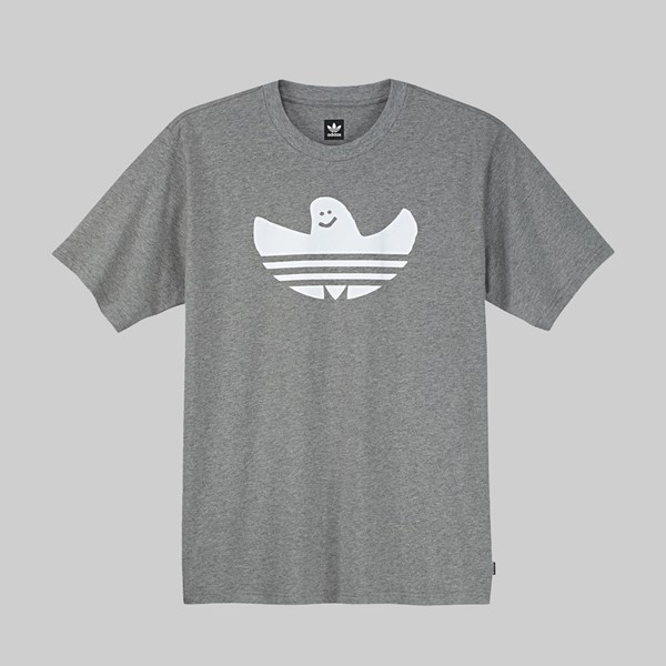 ADIDAS GONZ SHMOO SS T-SHIRT CORE HEATHER