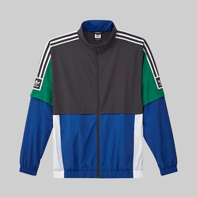 ADIDAS STANDARD 2.0 JACKET CARBON COLLEGIATE ROYAL