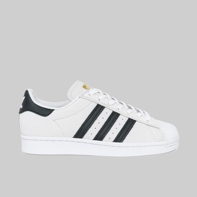 ADIDAS SUPERSTAR WHITE BLACK WHITE GOLD MET