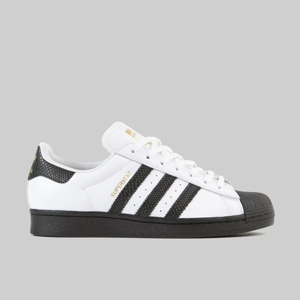 ADIDAS SUPERSTAR ADV FOOTWEAR WHITE CORE BLACK