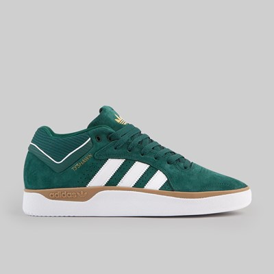 ADIDAS TYSHAWN COLLEGIATE GREEN FOOTWEAR WHITE