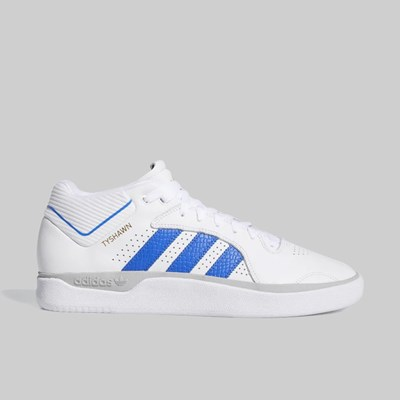 ADIDAS TYSHAWN FOOTWEAR WHITE BLUE GOLD MET