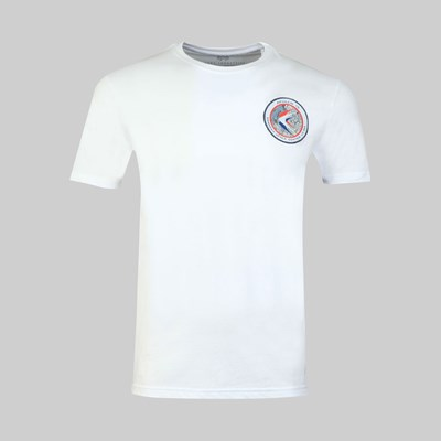ALPHA INDUSTRIES APOLLO 15 SS T-SHIRT WHITE