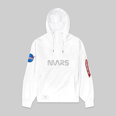 ALPHA INDUSTRIES MARS MISSION JACKET WHITE