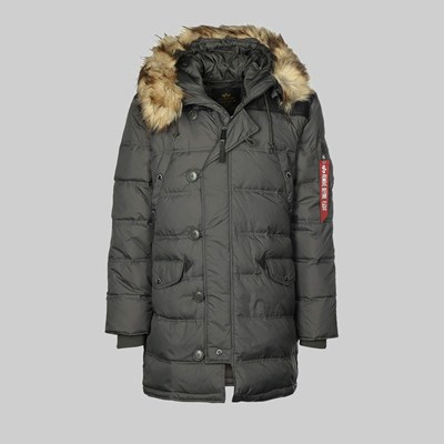 ALPHA INDUSTRIES N3B VF59 JACKET GREY BLACK