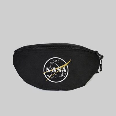 ALPHA INDUSTRIES NASA WAIST BAG BLACK