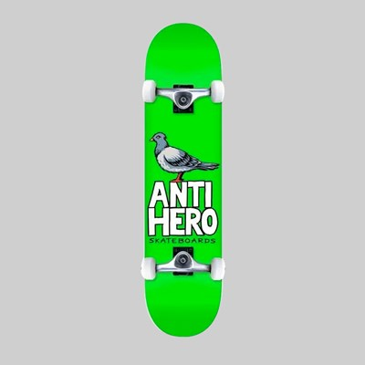 ANTI HERO COMPLETE PIGEON HERO XL GREEN 8.25""