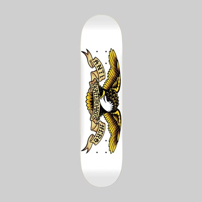 ANTI HERO SKATEBOARDS CLASSIC EAGLE WHITE DECK 8.75