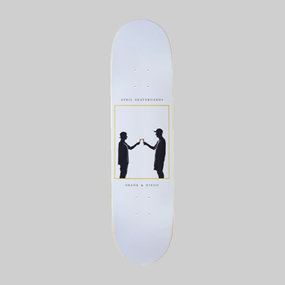 APRIL SKATEBOARDS CHEERS TEAM DECK 8.38""
