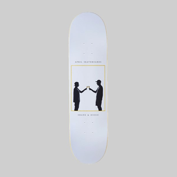 APRIL SKATEBOARDS CHEERS TEAM DECK 8.25""