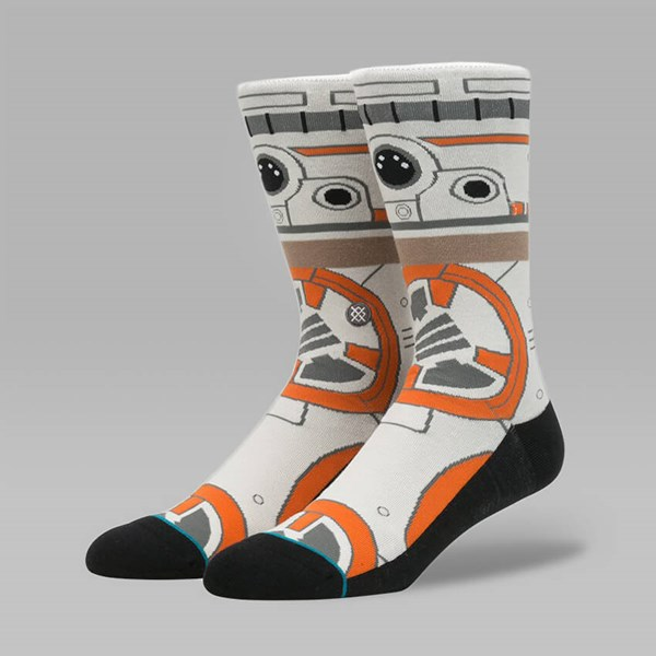STANCE X STAR WARS BB8 SOCKS TAN