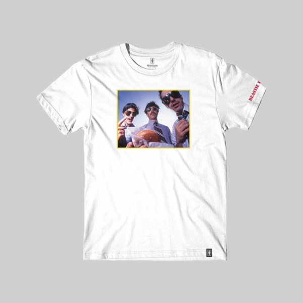 GIRL X SPIKE JONZE X BEASTIE BOYS 'SABOTAGE' TEE WHITE