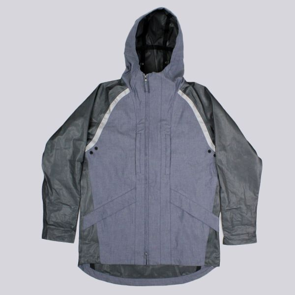 Boxfresh Quarter Baculus Jacket Blue Chambray