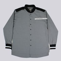 Boxfresh Quarter Cachalot Long Sleeve Shirt Black
